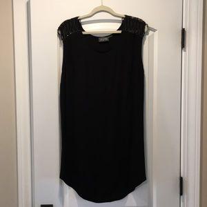 ASTR Black Sleeveless Dress